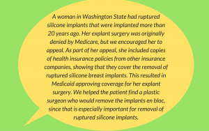 Breast Implant Removal Insurance Coverage Washington state